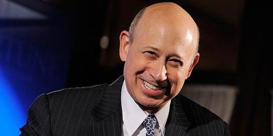 Lloyd Blankenfein, CEO of Goldman Sachs